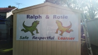 School Signage Outdoors
