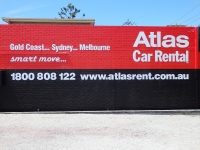 3D wall Signage Outdoors