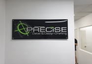 3D reception sign-kirkbysigns