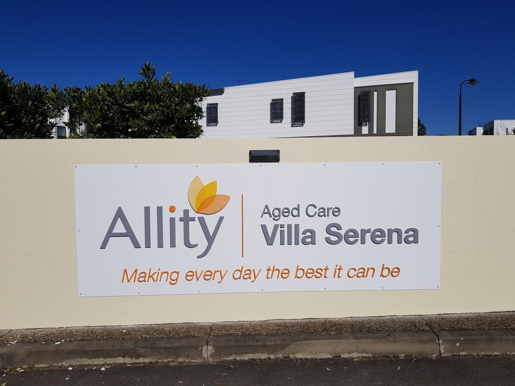 perspex letters-alucobond sign