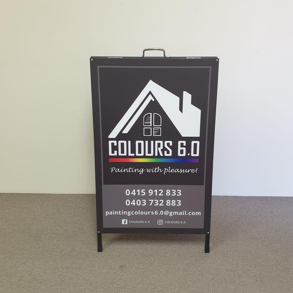 A-Frame signage 900 x 600
